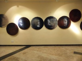 Exhibition : Point of Origin in the Murcia University. Murcia. Spain. 2016