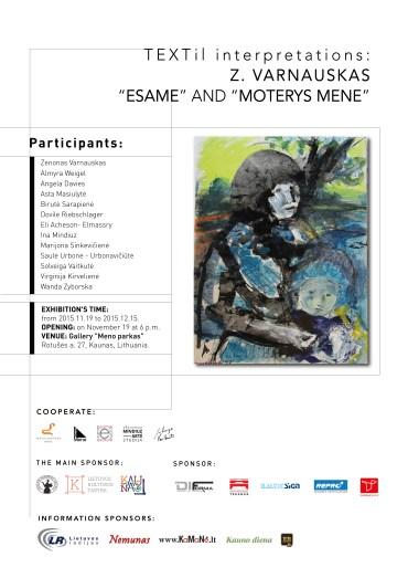 Poster exhibition TEXTile interpetations