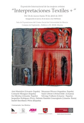 cartel interpretaciones textiles